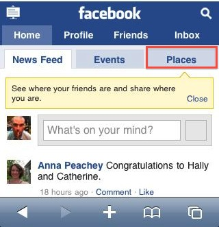 touch.facebook.com thinks I'm in the US