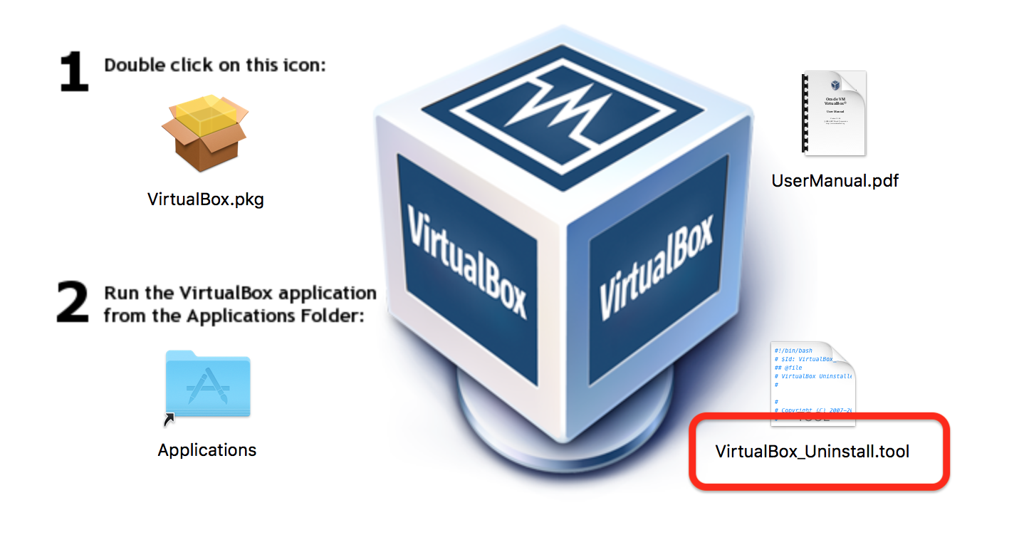 Un-install tool for VirtualBox